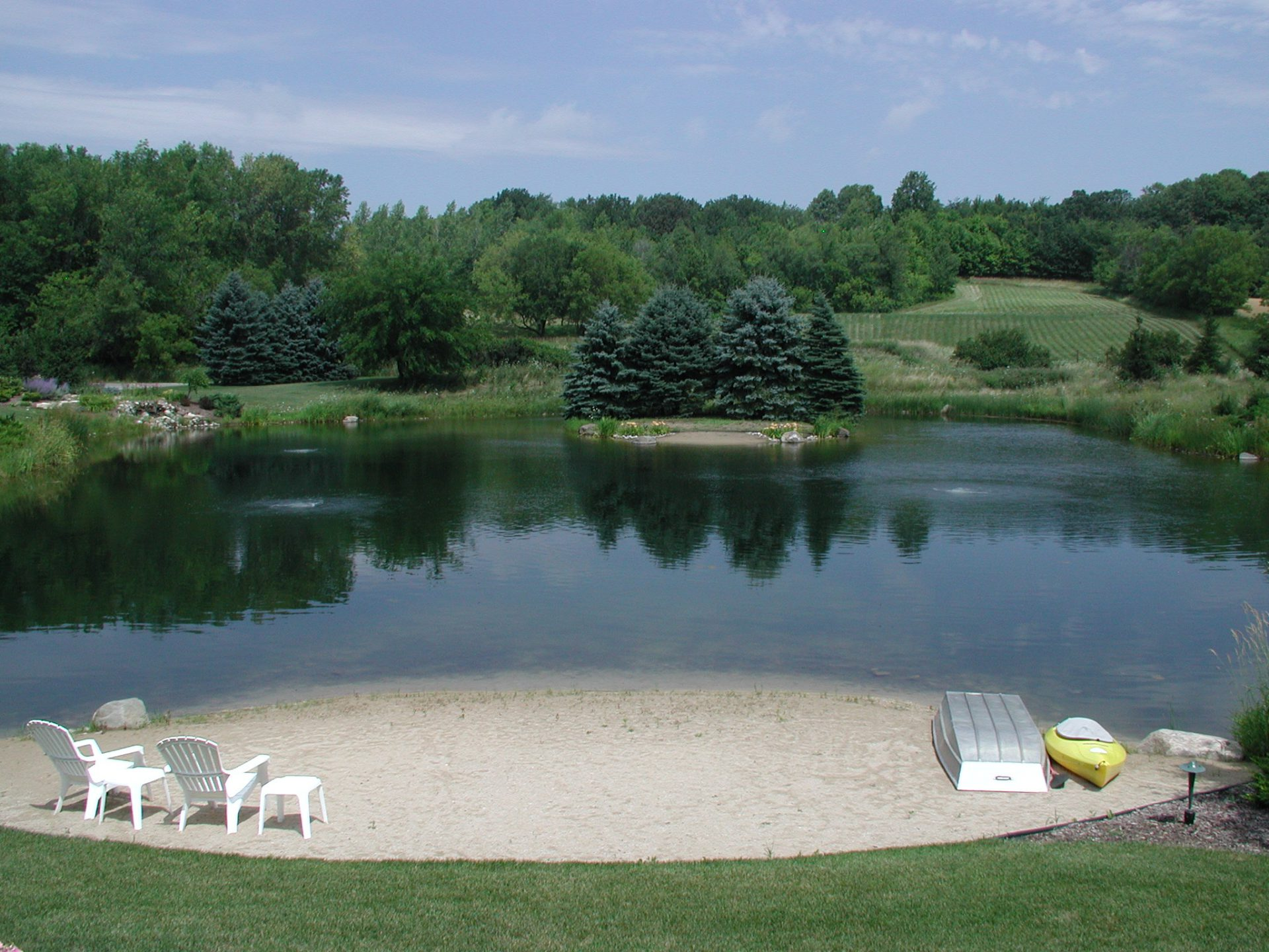 Pond aerators bing images for Building a 1 acre pond